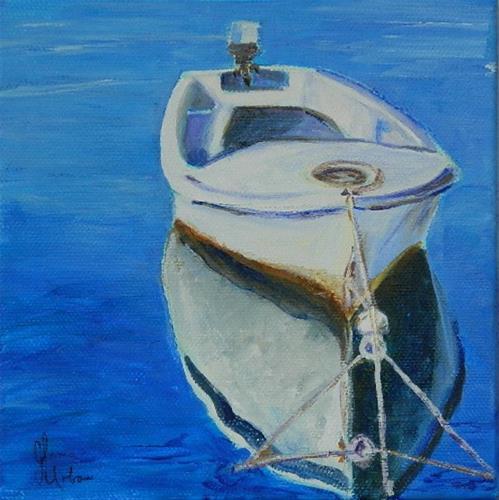 """Anchord"" original fine art by Gloria Urban"