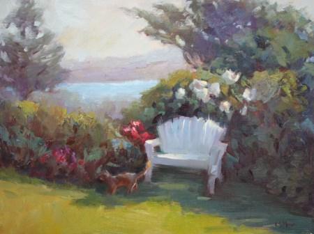 """Headlands Inn"" original fine art by Carol Myer"