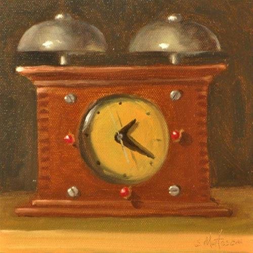 """Wake Up Call"" original fine art by Susan Matteson"