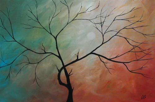 """Moonlight Sonata"" original fine art by ~ces~ Christine E. S. Code"