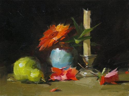 """""""Demo at Jacksonville 3 --- Sold"""" original fine art by Qiang Huang"""