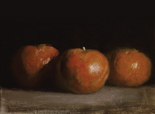 """Clementines"" original fine art by Neil Carroll"