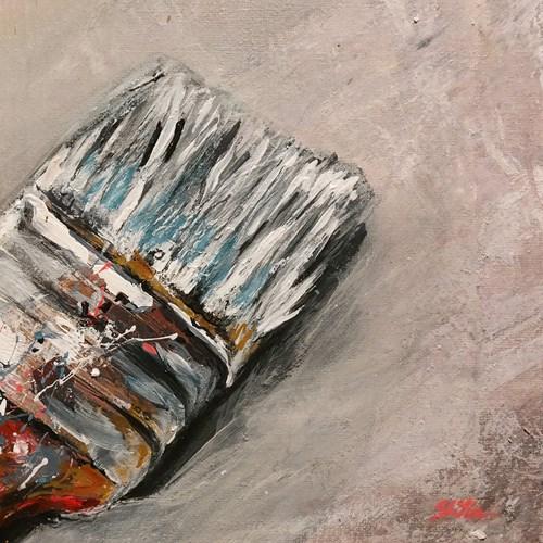 """1489 Brush Test"" original fine art by Dietmar Stiller"
