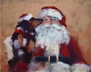 """""""An Artist's List for Santa"""" original fine art by Karen Margulis"""
