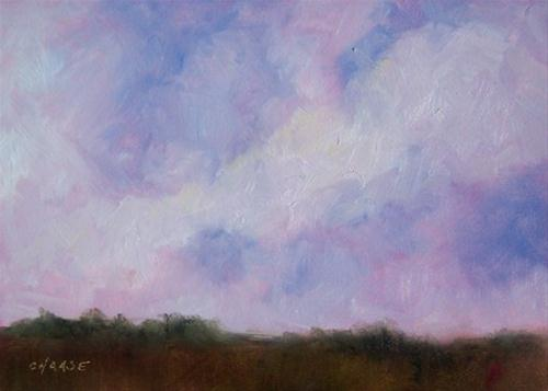 """Big Sky Country"" original fine art by Cindy Haase"