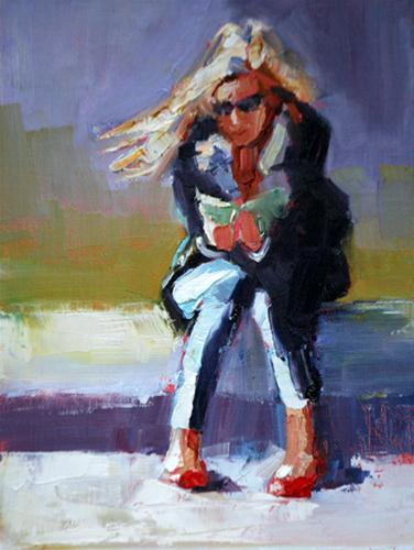 """""""dorothy"""" original fine art by Carol Carmichael"""
