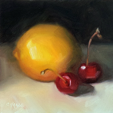 """Sweet Tart"" original fine art by Cindy Haase"