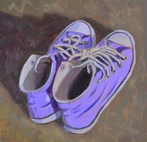"""Erin's Shoes"" original fine art by Robert Frankis"