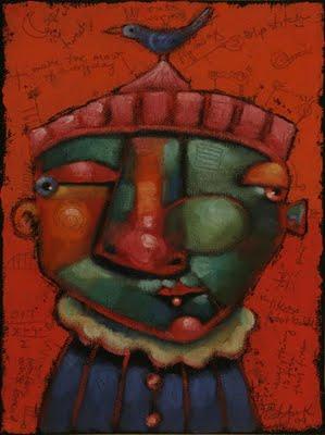 """Tweet L. D."" original fine art by Brenda York"