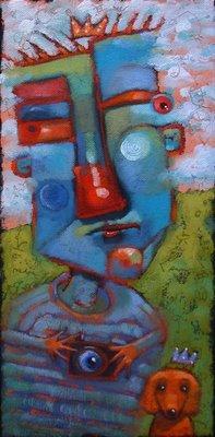 """Paterfamilias"" original fine art by Brenda York"