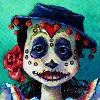 """ROSA"" original fine art by Kristy Tracy"