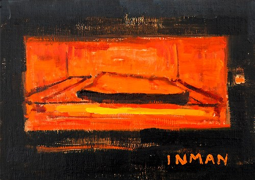 """""""Night Cheese"""" original fine art by Kevin Inman"""