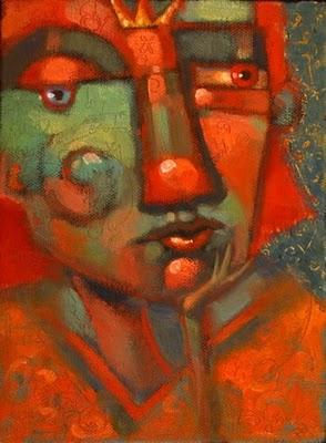 """Royal Tizzy"" original fine art by Brenda York"