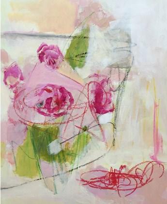 """merry go rose"" original fine art by Pamela Munger"
