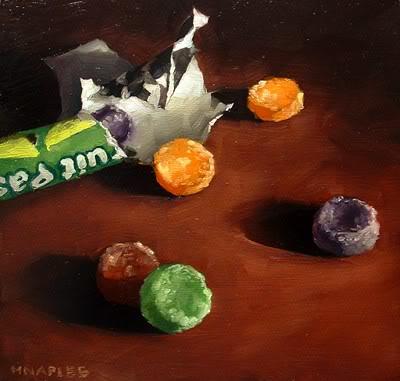 """""""Fruit Pastilles"""" original fine art by Michael Naples"""