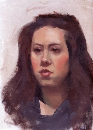"""Portraits"" original fine art by Kathy Weber"