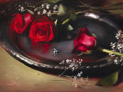 """Be Mine"" original fine art by Pamela Blaies"