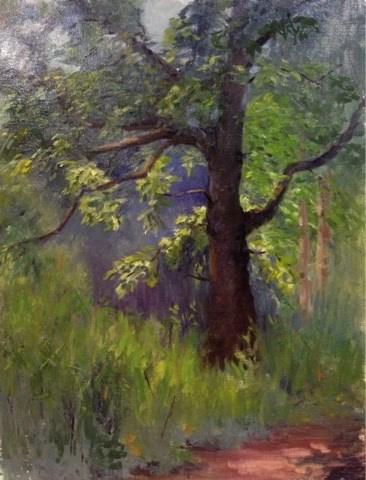 """""""Morning Light"""" original fine art by Judith Anderson"""