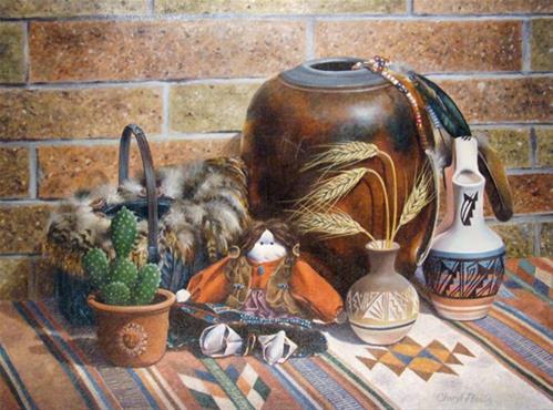"""Southwest Exposure"" original fine art by Cheryl Plautz"