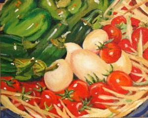 """Fresh"" original fine art by JoAnne Perez Robinson"