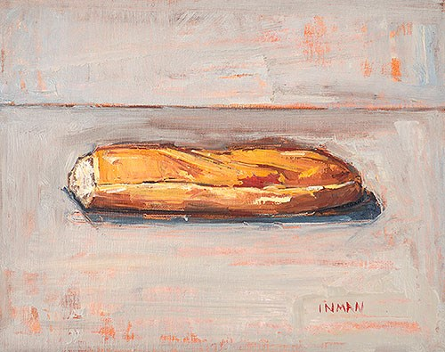 """The Bloody Baguette"" original fine art by Kevin Inman"