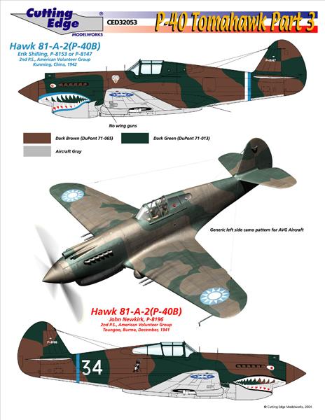 World's Best Model Airplane Decals | Cutting Edge Decals