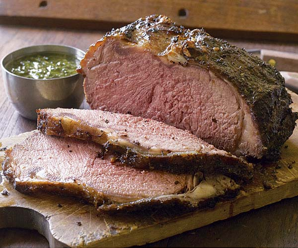 Pepper-Crusted Grill-Roasted Beef