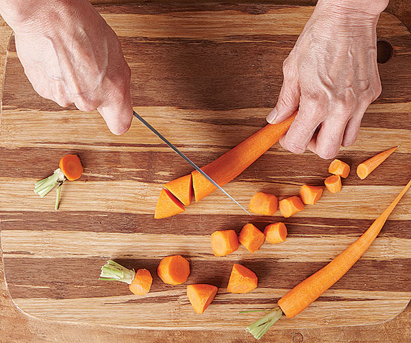 A Cool Cut For Carrots Article Finecooking