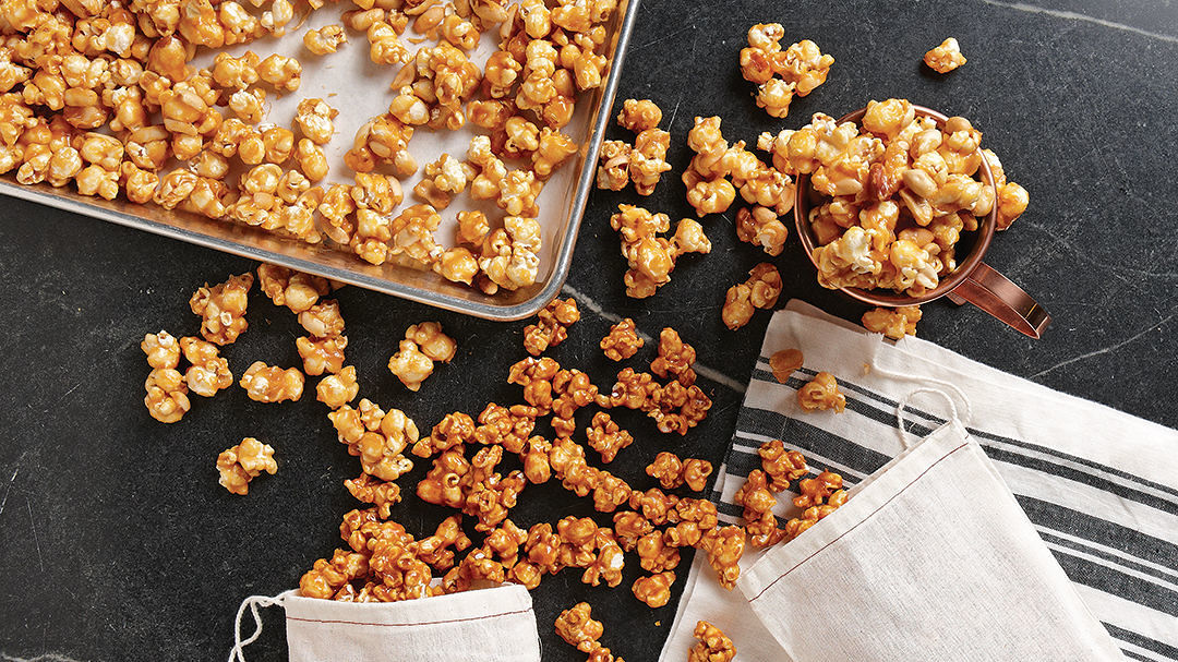 Caramel Popcorn Recipe Finecooking
