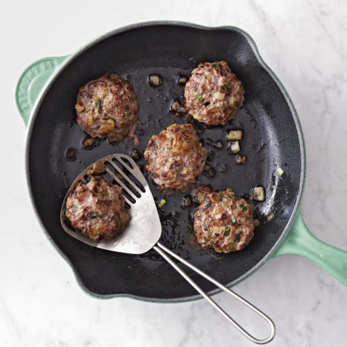Apple Sage and Fennel Breakfast Sausage