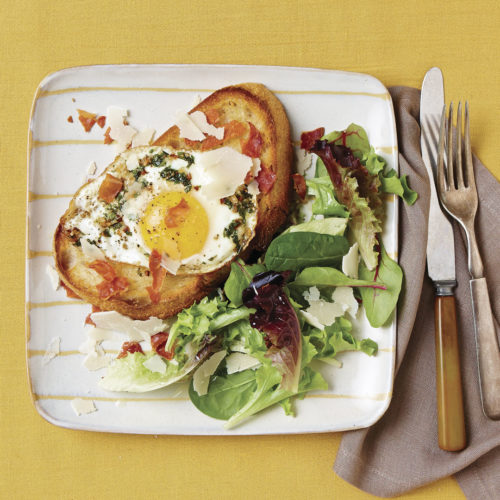 garlic-and-herb-fried-eggs-on-toasts-with-prosciutto-crisps-sq