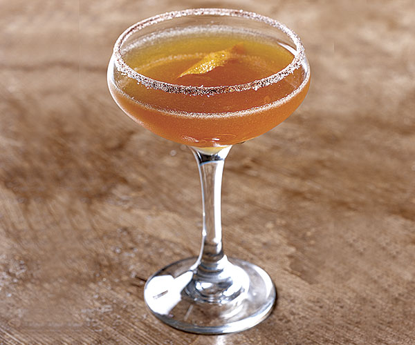 Spicy Bourbon Sidecar