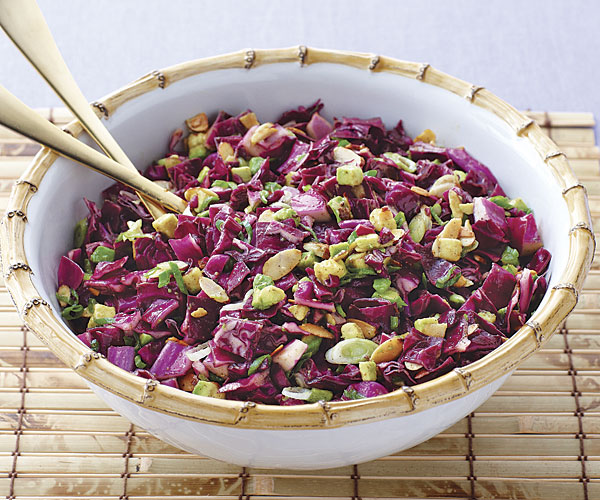Five Spice Red Cabbage Salad Recipe Finecooking