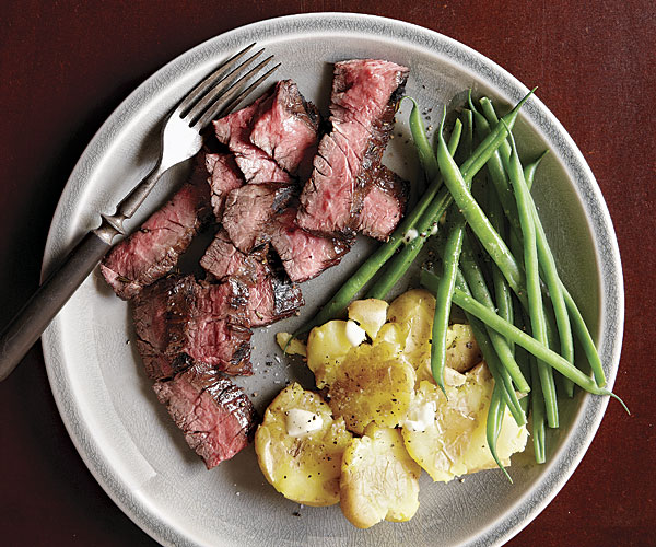A Simple and Quick Steak Dinner for Father's Day