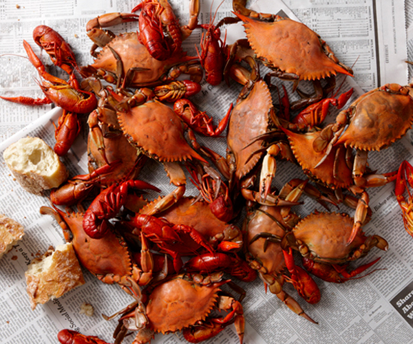 boiled crawfish and crabs recipe finecooking
