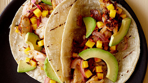 Yucatecan Grilled Fish Tacos