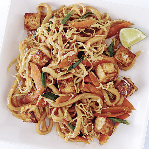 Spicy Pan Fried Noodles With Tofu Recipe Finecooking