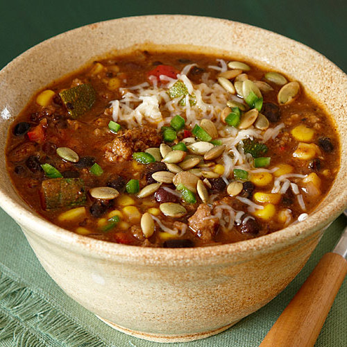 Southwestern Beef And Black Bean Chili Recipe Finecooking