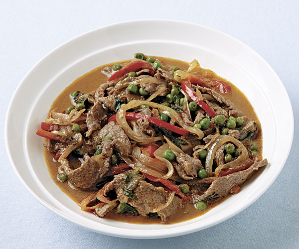 Panang Curry Beef with Basil