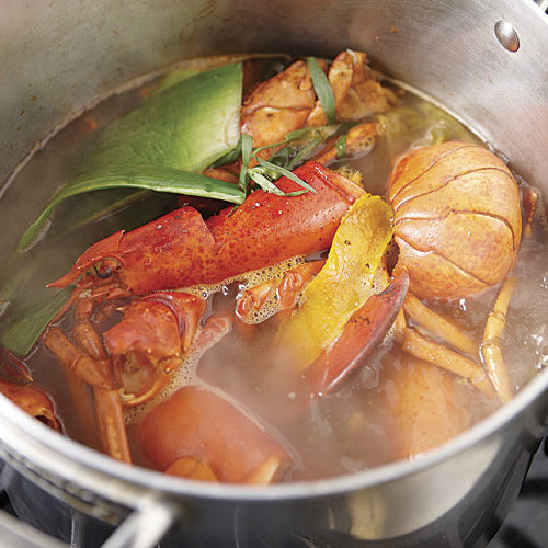 Lobster Stock - Recipe - FineCooking