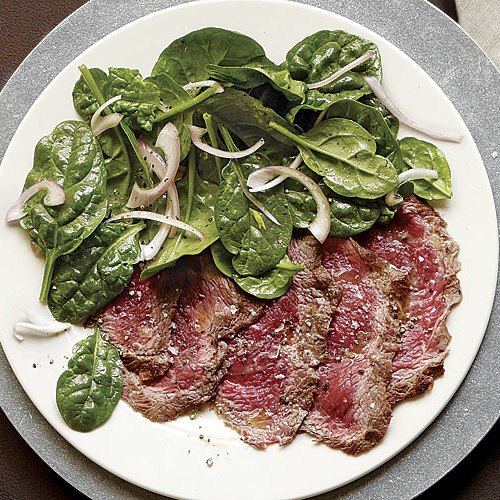 Seared Carpaccio Style Shoulder Petite Tender Recipe Finecooking