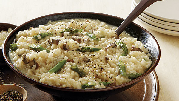 Wild Mushroom Risotto Recipe Finecooking