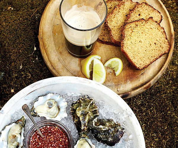 Pawlcyn Irish Soda Bread main - Guinness and Oysters to complete your St Patrick's Day in Lock Down