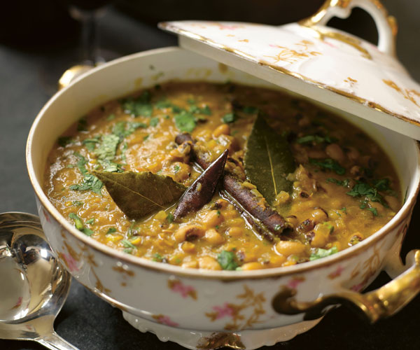 New Year S Black Eyed Pea Curry Recipe Finecooking