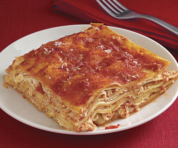 Four Cheese and Tomato Lasagne