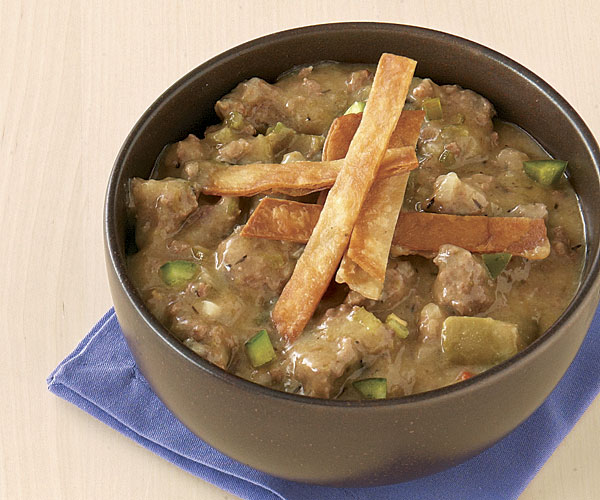 Beef And Green Chile Chili Recipe Finecooking