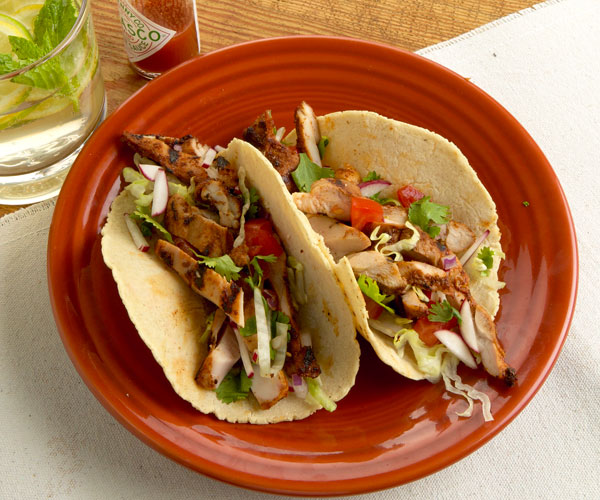 grilled tamarind chicken tacos recipe finecooking