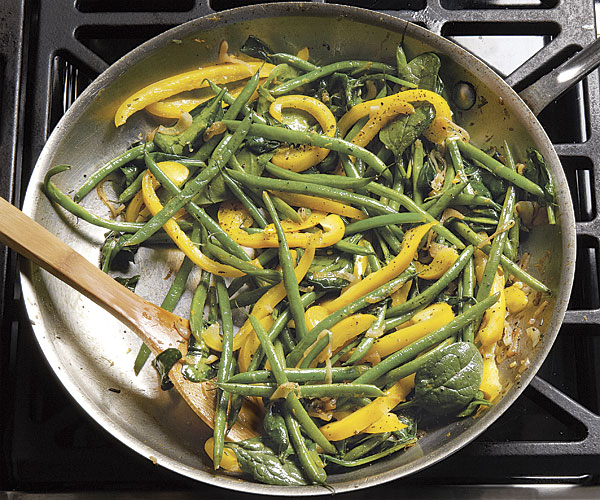 Vegetable Sauté with Orange and Balsamic