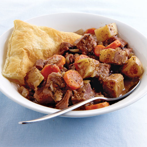 Slow-Cooker Steak and Guinness Pie - Recipe - FineCooking