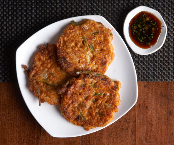 Kimchi pancakes with soy vinegar dipping sauce recipe finecooking kimchi pancakes with soy vinegar dipping sauce forumfinder Image collections